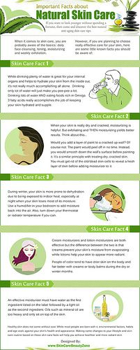 Important Facts About Natural Skin Care (Infographic)