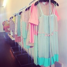 Pretty pastels for spring/summer 2014