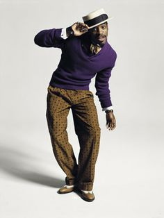 Andre 3000 the modern dandy... love how fun and fearless he is with his style
