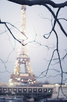 one day, lights, tower, dreams, pari