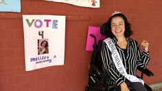 Special-needs student crowned homecoming queen 'can't believe it'