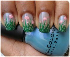 #flowers #nailart