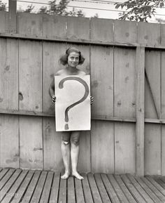 In 1922, some women were unsure of their genders. They were required to carry a sign with a question mark on it until a certified gender specialist and a court official could decide...