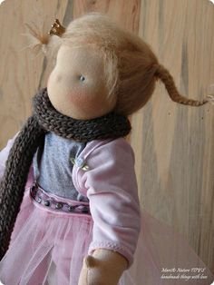 Waldorf doll by Maria of Maria's Nature Toys on Etsy