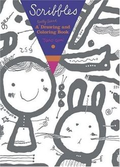 Scribbles: A Really Giant Drawing and Coloring Book - Greta