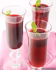 Nonalcoholic Holiday Drinks