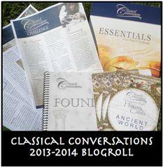 Classical Conversations Blogroll