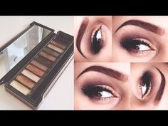 ▶ Urban Decay Naked 2 Palette | Makeup Tutorial - YouTube