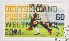 2014 World Cup winners Germany printed 5m victory stamps before final