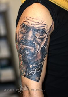 Breaking Bad Tattoos by Robert Witczuk