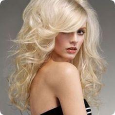 long voluminous hair - not color