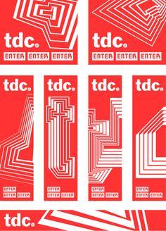 Type Directors Club, TDC 58, Pentagram