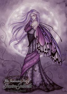 Silver Moon Fairy by Jessica Galbreth