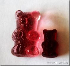 Turn gummy bears into giant gummy bears...and other fun projects..