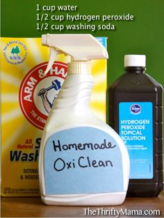 Homemade Oxy-Clean