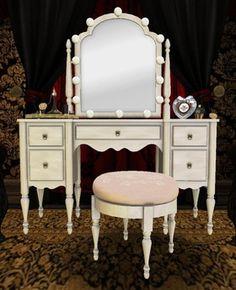 Vanity Mirror With Lights Dressing Room : Makeup Vanities on Pinterest