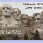 bibl studi, 1minut bibl