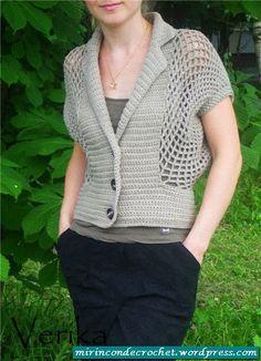 Relaxed Cardi | Crochet Paradise