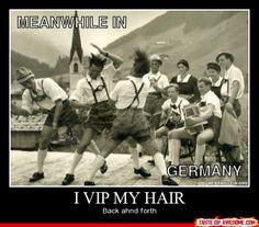I Vip My Hair