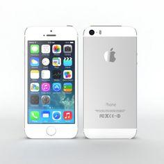 Iphone 5s Silver OHH LAWDDDDYYYYYY PRETTIEST THING EVER
