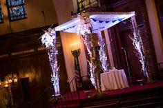 chuppah at Long Island #Modern #Jewish #Wedding at Temple Israel http://www.themodernjewishwedding.com/long-island-modern-jewish-wedding-from-exo-photography/
