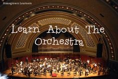 5 resources for learning about the orchestra