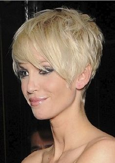 adorable pixie cut, for