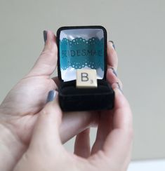 Cute way to 'propose' to your #bridesmaids!