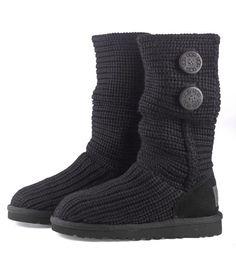 knit button ugg® boots - Chasing Fireflies