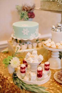 Atlanta's New Year's Eve Wedding/dessert table