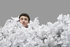 Conquering the Paper Piles in Your Home | Stretcher.com - Is it possible to get all the paper that comes into our homes organized and under control?