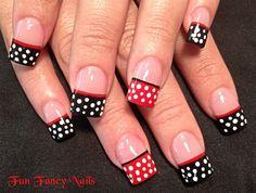 Minnie in mind - Nail Art Gallery nailartgallery.nailsmag.com by nailsmag.com