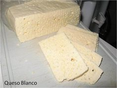 Los quesos blancos!