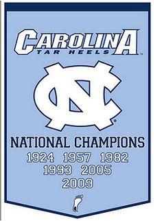 University of North Carolina Tarheels.....basketball champs.