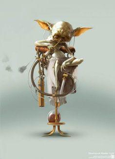 Star Wars Steampunk by Bjorn Hurri