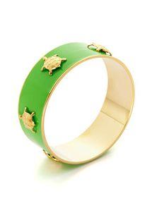 #DZ green turtle ring