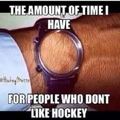 Time For Hockey