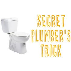 "Learn The ""Secret Plumber's Trick"" To Unclog A Toilet!"
