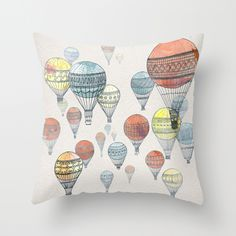 fun and unique pillows (only $20!) and wall art from Society 6