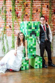 Matt and Asia's Minecraft wedding   The Goodness   Sacramento Wedding Photographer