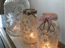 Glass Jar Crafts - B