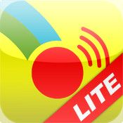 Scene & Heard Lite, lite version is free, allows you to create hot spots, switch accessible, includes symbol set. Originally designed as AAC app.