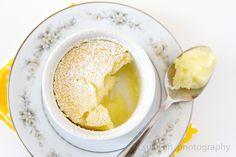 Lemon pudding cake.