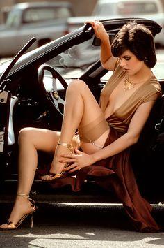 Love the Metallic Heels.....