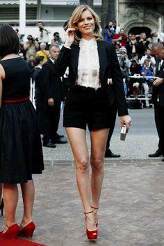 Eva Herzigova and Milla Jovovich  model perfect at Cannes