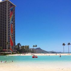 Sunny Waikiki | Hawaii Pictures of the Day