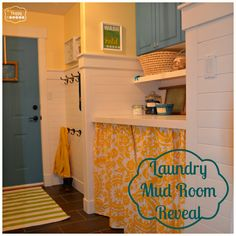 Laundry Mud Room at thehappyhousie