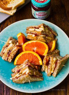 peanut butter club sandwich