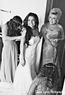 getting ready pose #wedding #dress