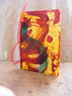 Inspiration Journal  hand bound by artmixter on Etsy, £5.00